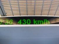 430km/h