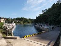 入り江の港