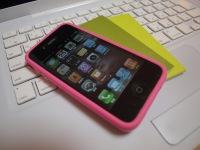 iPhone 4ピンクバンパー